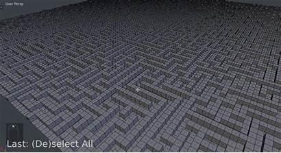 Maze Textures Blender Applying Texture Wall