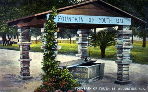 Florida Memory - Fountain of Youth, 1513 - Saint Augustine ...
