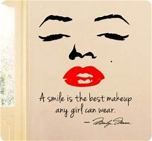 17 Best images ... Lipstick And Smile Quotes