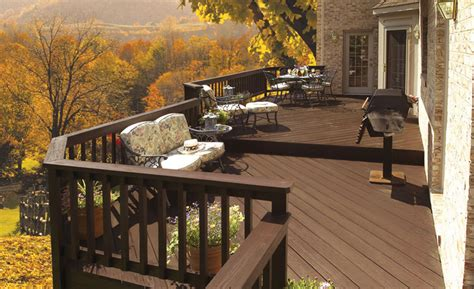 protect  deck  winter exterior fall home