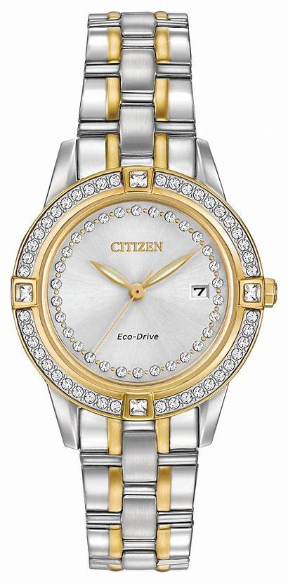 Silhouette Citizen Crystal Ladies Drive Eco 58h