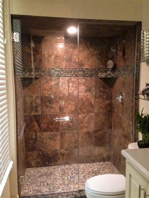 Tiled Walk In Showers by Walk In Tile Shower Replaces Tub Shower Combination