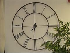 Wall Clocks Large by Using Oversized Wall Clocks To Decorate Your Home