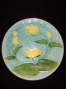 Seat Sarreguemines : german majolica water lily plate schramberg villeroy and boch v b antique vintage ~ Gottalentnigeria.com Avis de Voitures