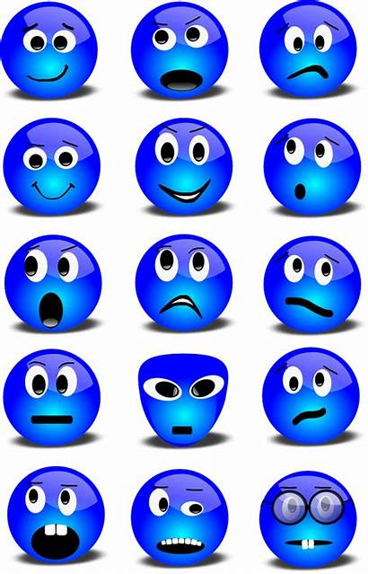 Emotions Expression Emotion Clipart Facial Transparent Express