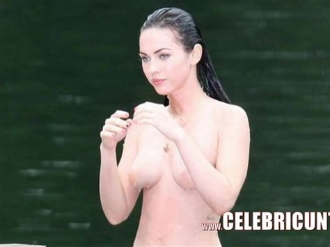 Beautiful Celeb Babe Megan Fox Nude Topless And Sexy Free