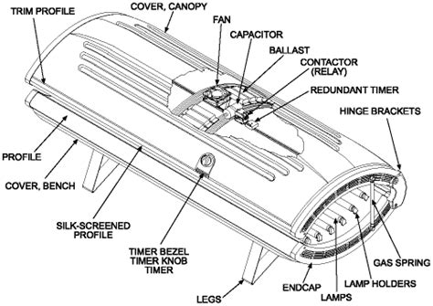 Wiring Diagram For Tanning Bed by Wolff Tanning Gt E Series Gt E 24rsh