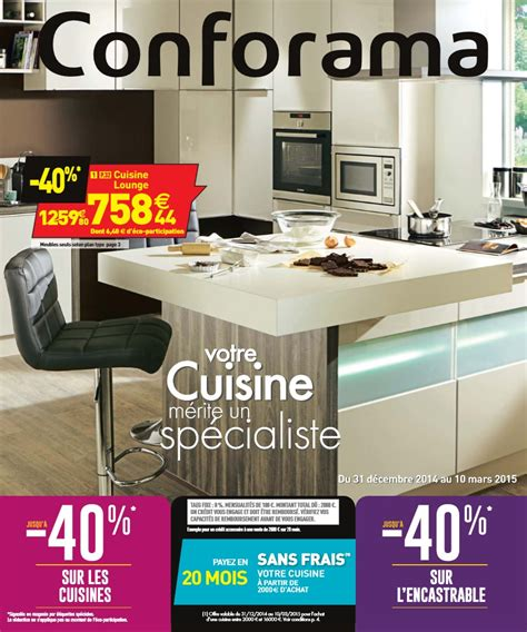 catalogue conforama cuisine au 10 mars 2015 catalogue az