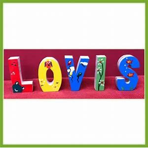 Buchstaben Für Kinderzimmertür : hier ist dein ganz pers nliches geschenk holzspielzeug pfeiffer ~ Orissabook.com Haus und Dekorationen