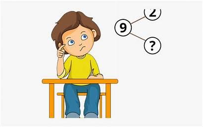 Solving Math Cartoon Problems Clipart Clipartkey