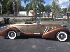 1936 Auburn Boat Tail Speedster New Engine Under Warrantee