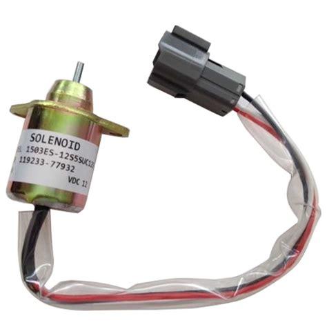 Yanmar Fuel Shut Solenoid Wiring Diagram by Fuel Shut Shut Stop Solenoid Valve For Yanmar