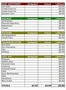 search results for simple monthly budget spreadsheet With templates for household budgets