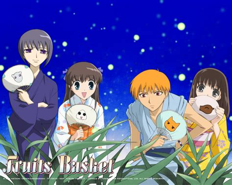 fruits basket wallpaper  background image