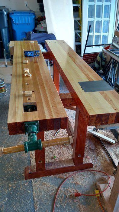finished workbench  bill berklich  lumberjockscom
