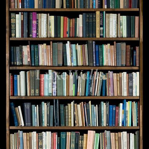 Bookshelf Wallpaper Luxe Walls