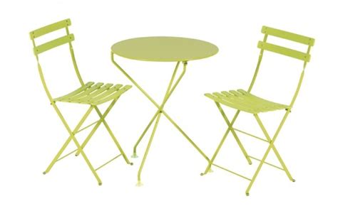 chaise vert anis emejing table de jardin metal verte photos amazing house