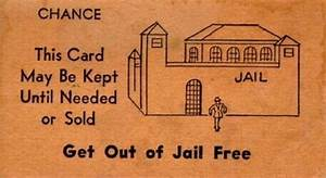 get out of jail free card photograph get images With get out of jail free card template