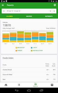 calorie counter  fatsecret android apps  google play