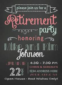 Invitation For Farewell Party Items Similar To Retirement Party Invitation On Etsy