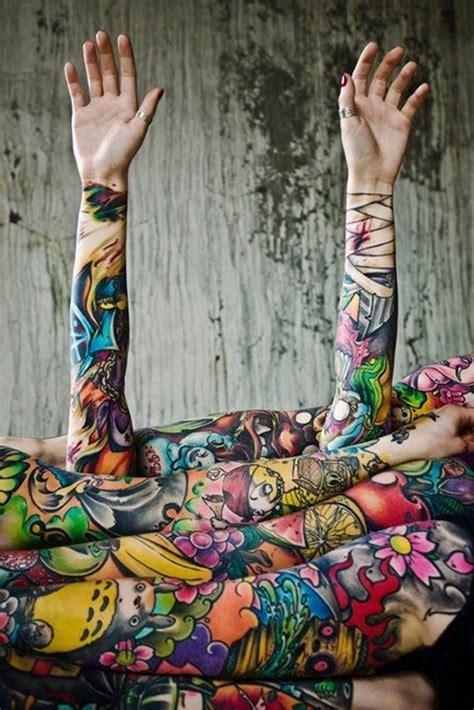 Tattoo Motive Mann Brust