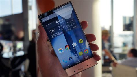 hands  sharp aquos crystal review techradar