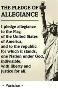 Pledge of Allegiance to the United States Flag