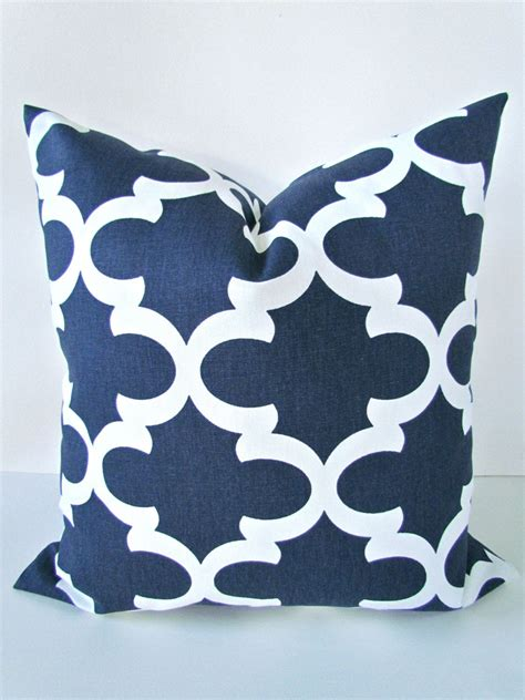 Formal Living Room Throw Pillows by Blue Pillow Covers Navy Blue Pillows Blue Decorative Throw