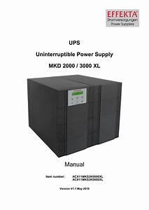 Effekta Mkd 3000 Xl Instruction Manual
