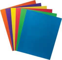 3 Ring Binder Pocket Folders