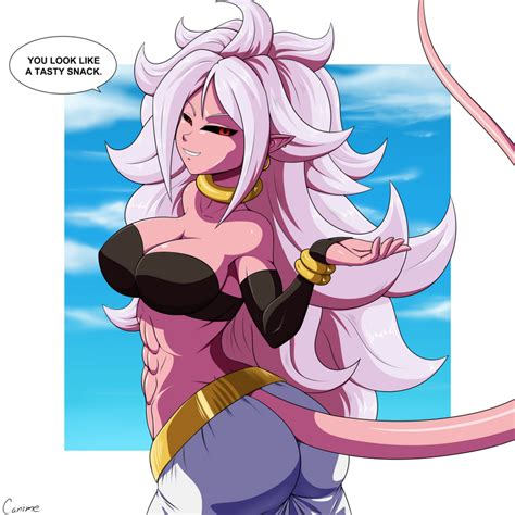 Majin Android By Canime On DeviantArt