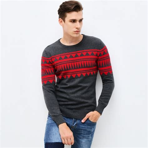 buy   autumn winter clothing pullover mens sweaters