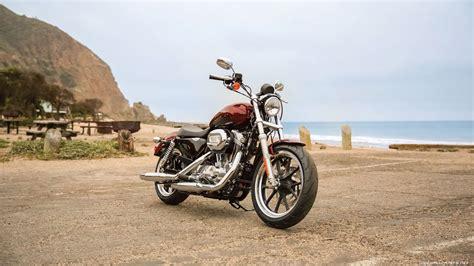 Harley-davidson Sportster Motorcycle Desktop Wallpapers 4k