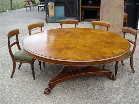 10 person round dining table antique furniture warehouse large round dining table