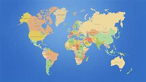 World Map Hd wallpaper - 871401
