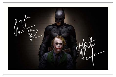 Christian Bale Heath Ledger Batman The Dark Knight