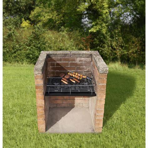 brick bbq designs brick bbq grill set pit design ideas
