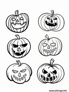 Citrouille Halloween Dessin : coloriage halloween citrouilles 2018 ~ Melissatoandfro.com Idées de Décoration
