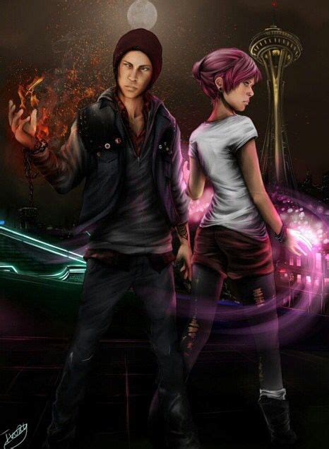 Infamous Second Son Delsin And Fetch My Action Life