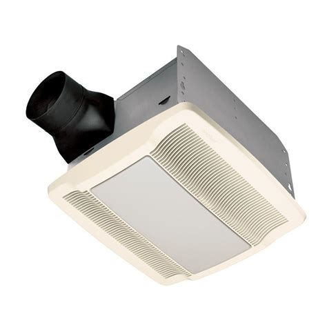 Bathroom Exhaust Fan With Light by Qtr Series 110 Cfm Ceiling Exhaust Bath Fan With