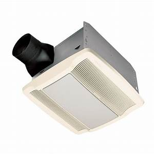 Qtr Series Quiet 110 Cfm Ceiling Exhaust Bath Fan With