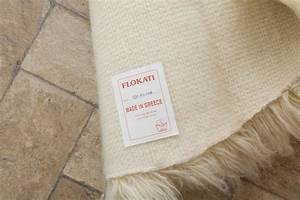 Buy Natural Flokati Rug 1700gm2 150cm Round Online The