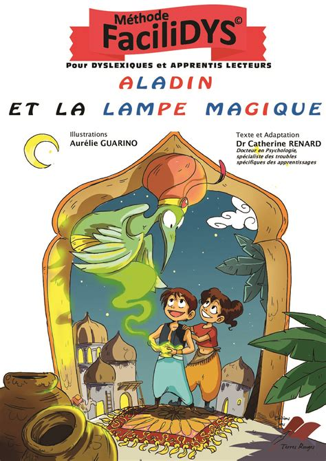 aladin et la le magique editions des terres rouges