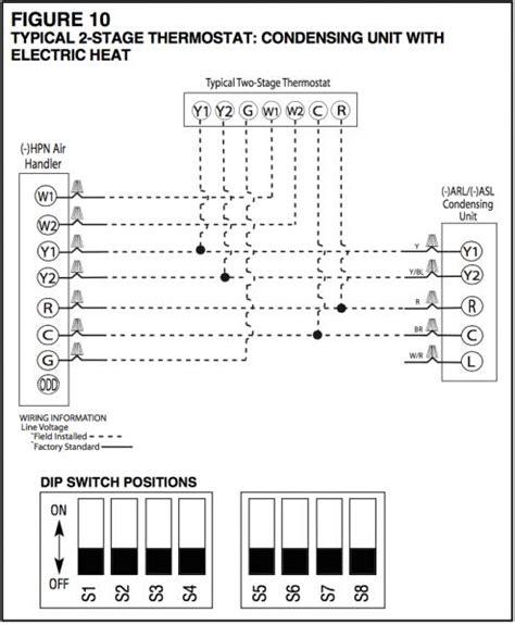 wiring dual compressor rheem condensing unit doityourself com community