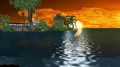 Animated Desktop Wallpapers Animation Sunset 3d Background
