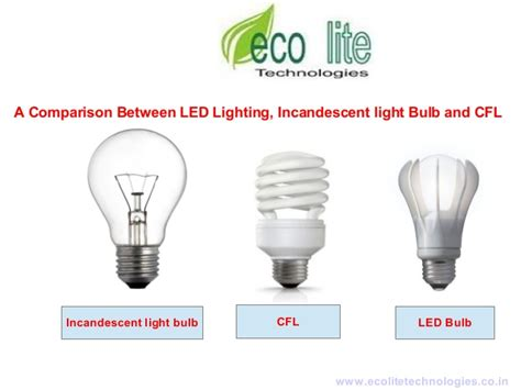 difference between l and light difference between led and incandescent light bulb a