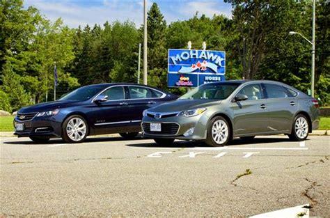 Comparison Test 2014 Chevrolet Impala Ltz Vs 2013 Toyota