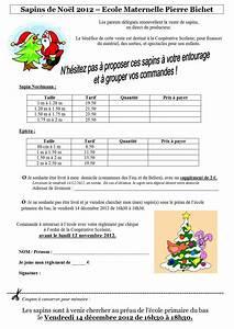 Vente Sapin De Noel : vente de sapins 2012 association de parents d 39 l ves ~ Melissatoandfro.com Idées de Décoration