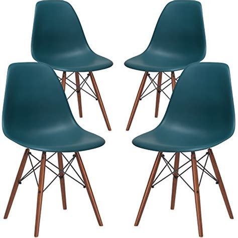 poly and bark em 105 wal tea x4 eames style dsw side chair