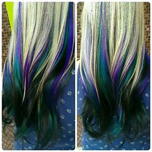 turquoise ombre hair | Tumblr